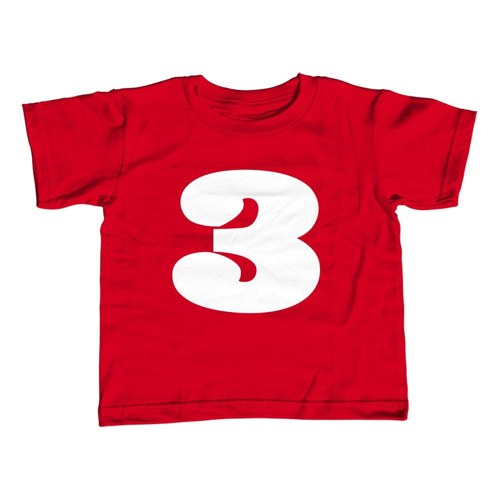 Girl's Third Birthday Three T-Shirt - Unisex Fit 3rd Birthday