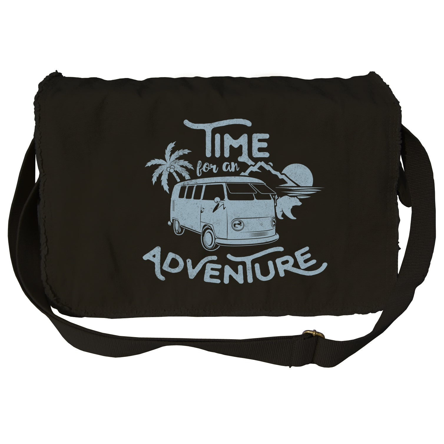 Time for an Adventure Messenger Bag