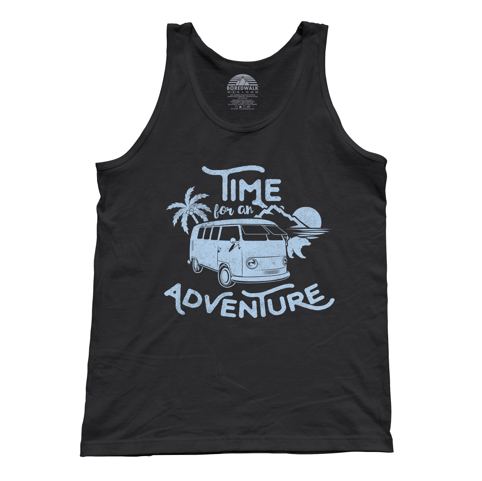 Unisex Time For An Adventure Tank Top