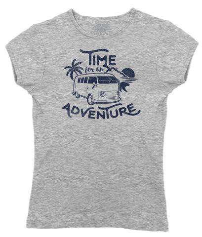 Women's Time For An Adventure T-Shirt - Juniors Fit