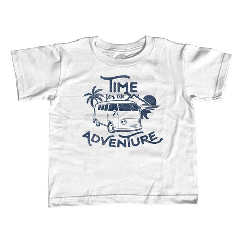Girl's Time For An Adventure T-Shirt - Unisex Fit