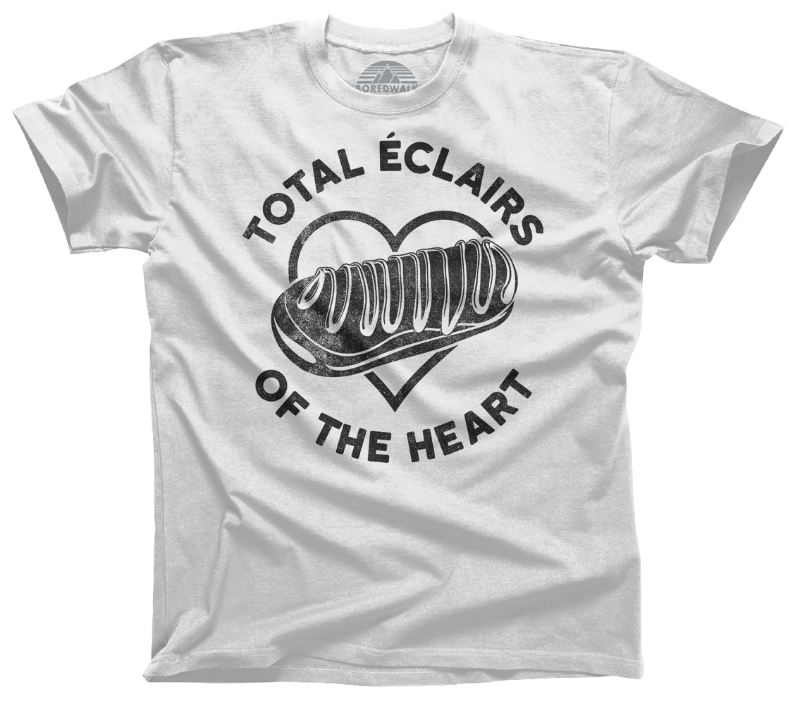 Men's Total Eclairs of the Heart Donut Shirt T-Shirt