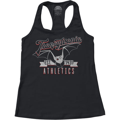 Women's Transylvania Athletics Racerback Tank Top
