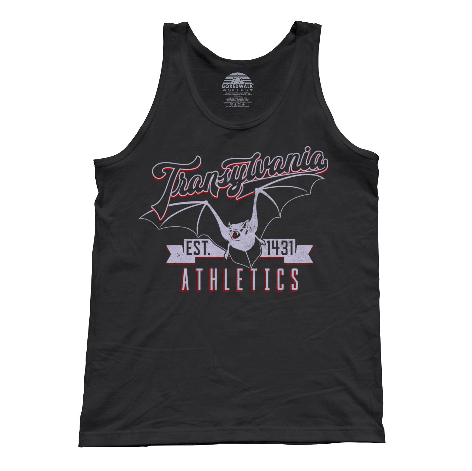 Unisex Transylvania Athletics Tank Top