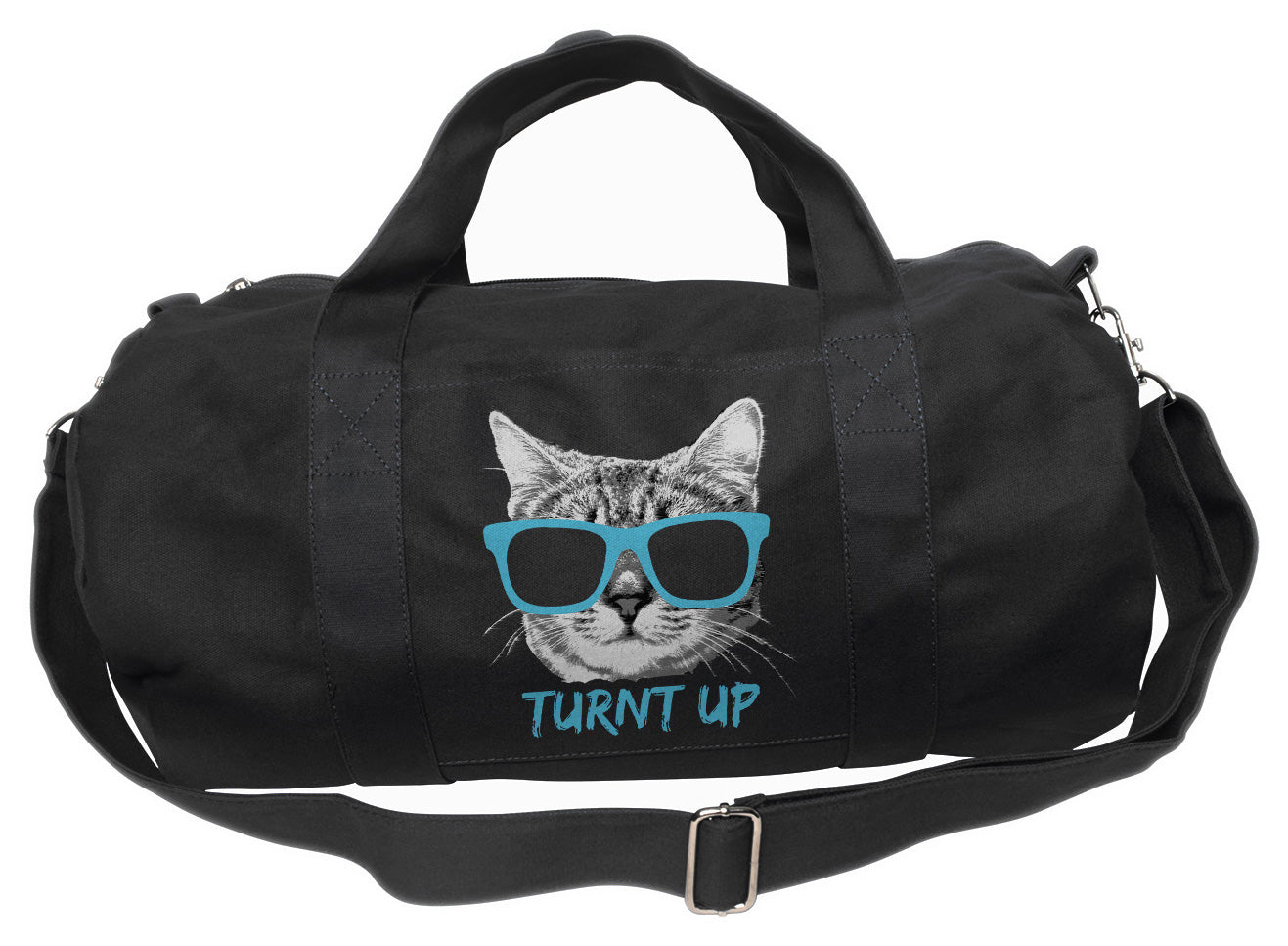 Turnt Up Kitty Duffel Bag