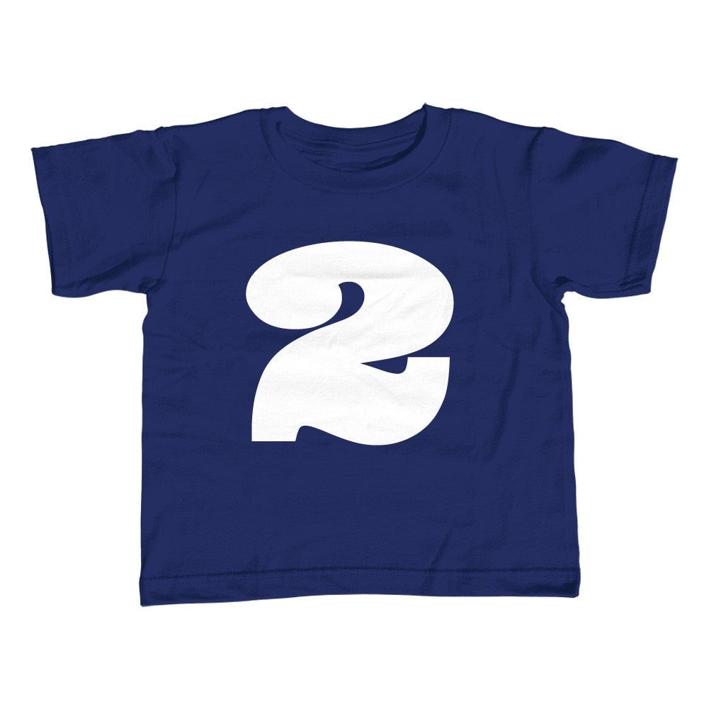 Boys Second Birthday Two T Shirt 2nd