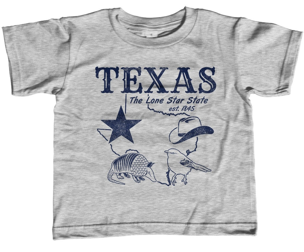 Boy's Vintage Texas T-Shirt Dallas Houston San Antonio Austin