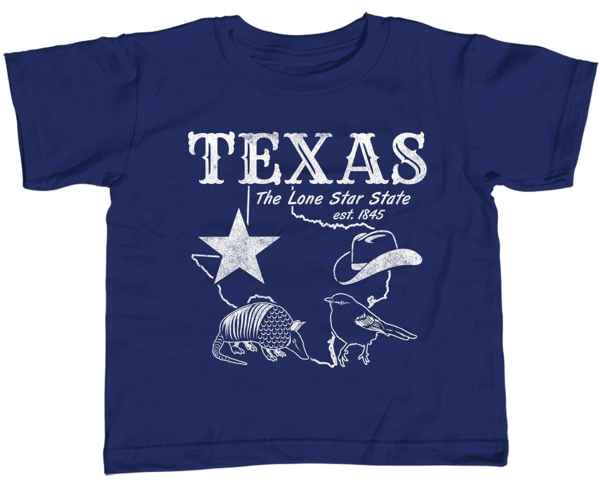Girl's Vintage Texas T-Shirt - Unisex Fit Dallas Houston San Antonio Austin