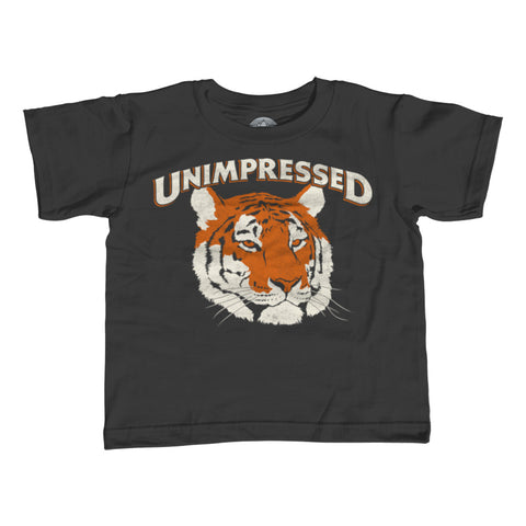 Boy's Unimpressed Tiger T-Shirt