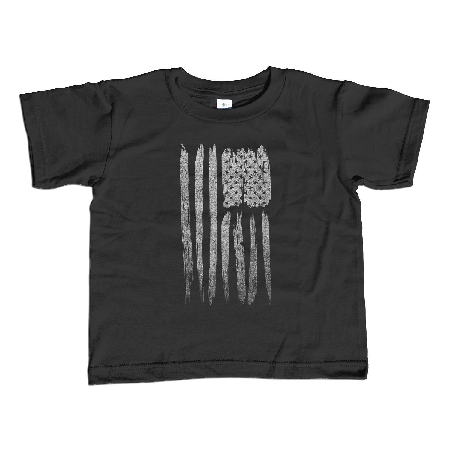 Girl's US Flag T-Shirt - Unisex Fit America Patriotic