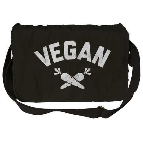 Team Vegan Messenger Bag