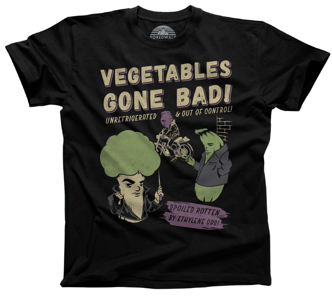 Men's Vegetables Gone Bad T-Shirt - By Ex-Boyfriend