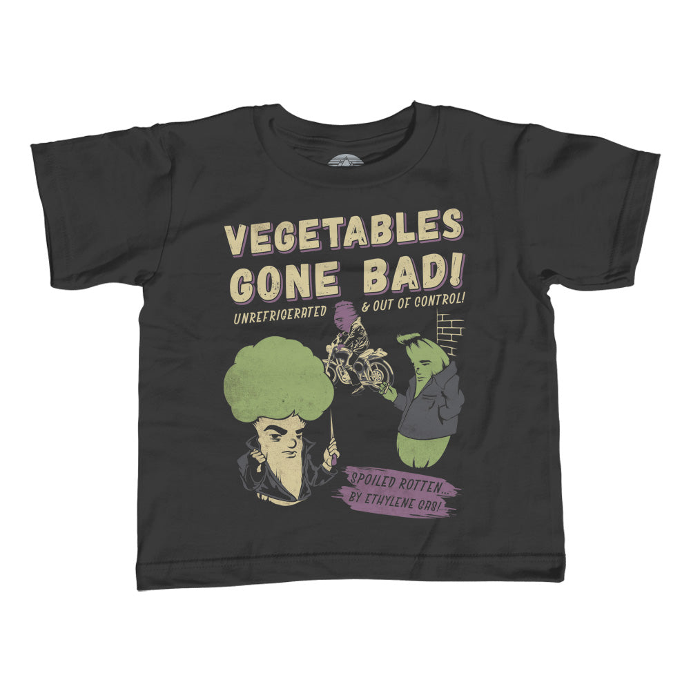 Girl's Vegetables Gone Bad T-Shirt - Unisex Fit - By Ex-Boyfriend