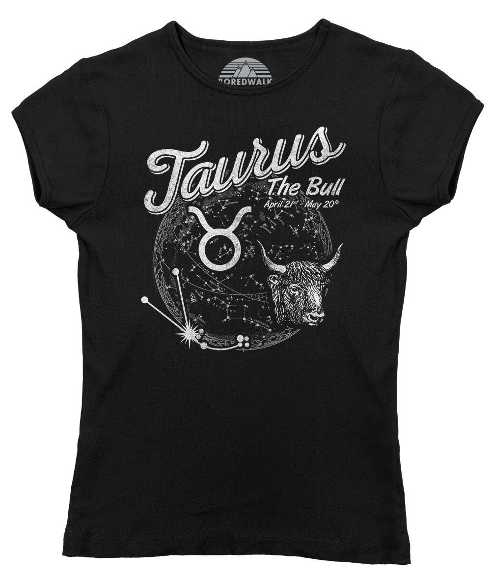 Women's Vintage Taurus T-Shirt - Juniors Fit