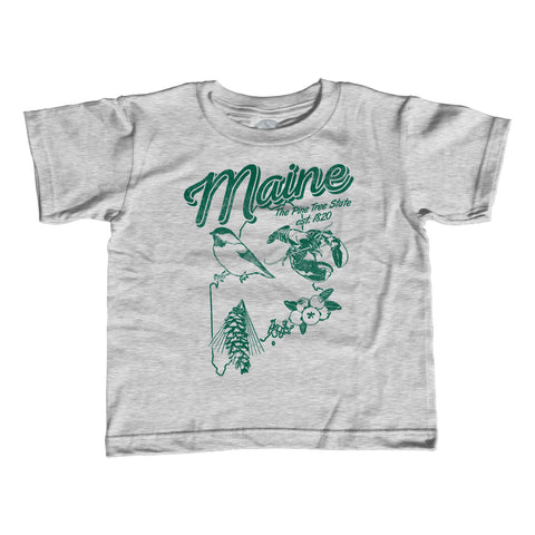 Boy's Vintage Maine T-Shirt