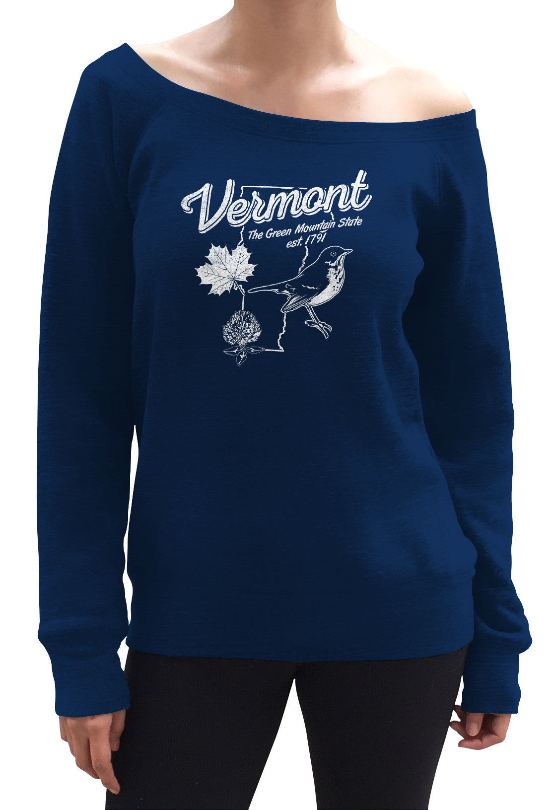Women's Vintage Vermont Scoop Neck Fleece