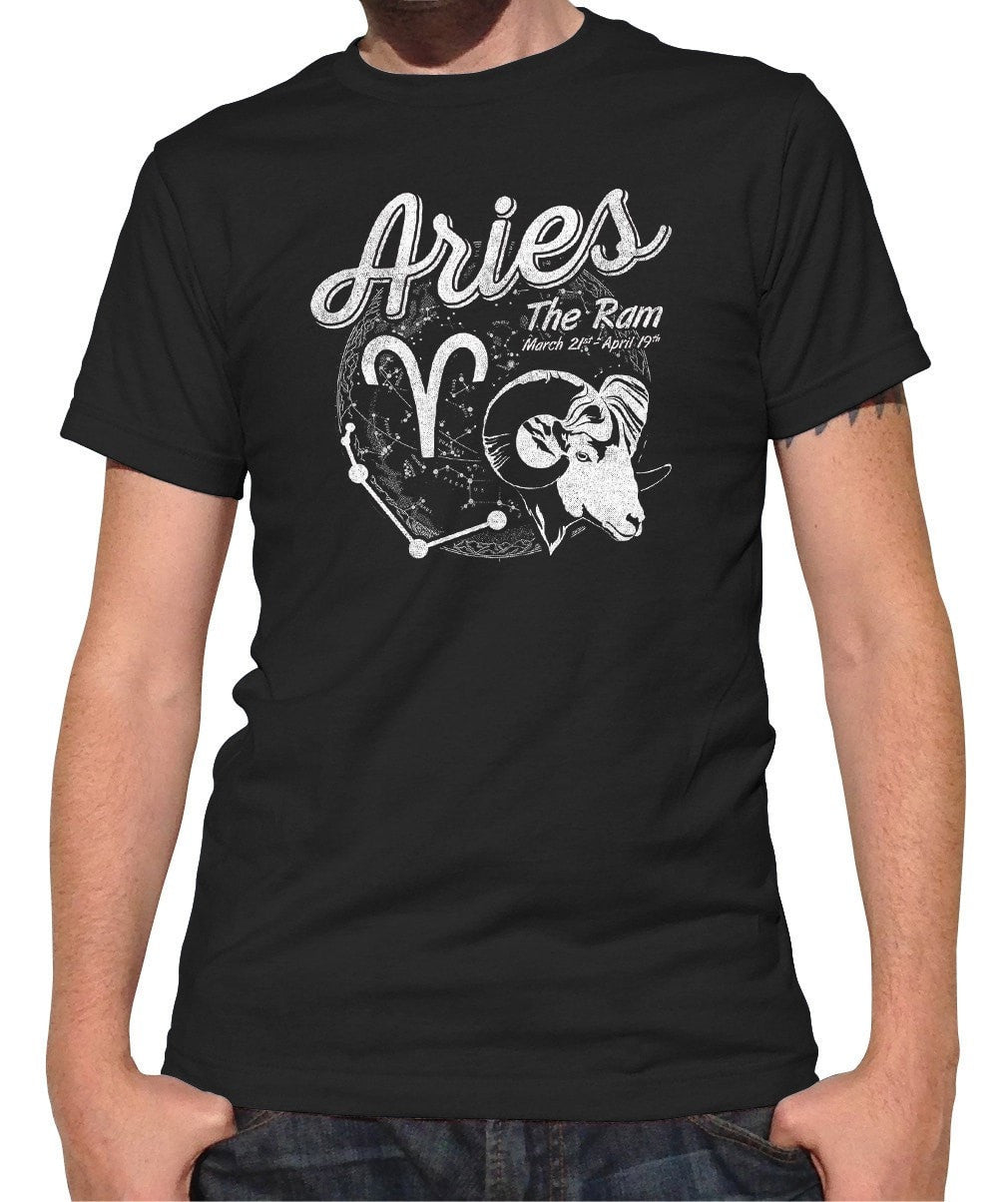 Men's Vintage Aries T-Shirt