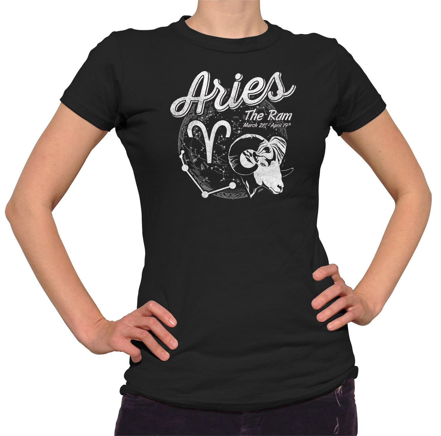 Women's Vintage Aries T-Shirt