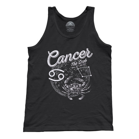 Unisex Vintage Cancer Tank Top