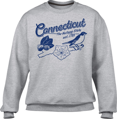 Unisex Vintage Connecticut Sweatshirt