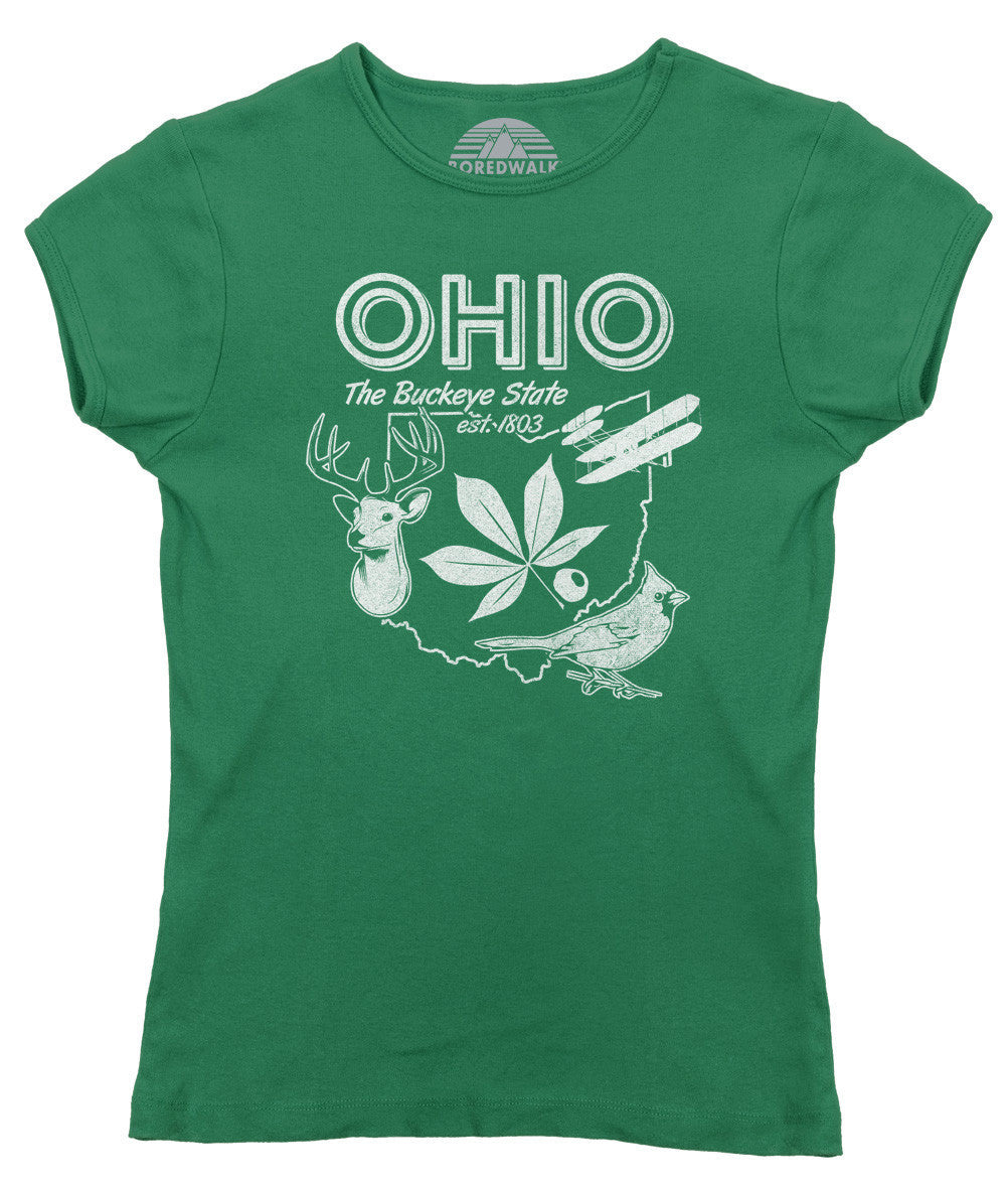 Women's Vintage Ohio State T-Shirt