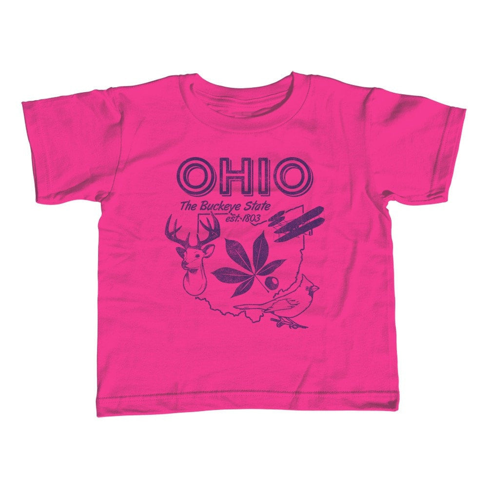 Girl's Vintage Ohio State T-Shirt - Unisex Fit
