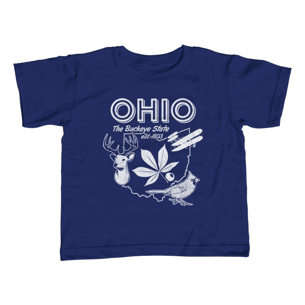 Boy's Vintage Ohio State T-Shirt