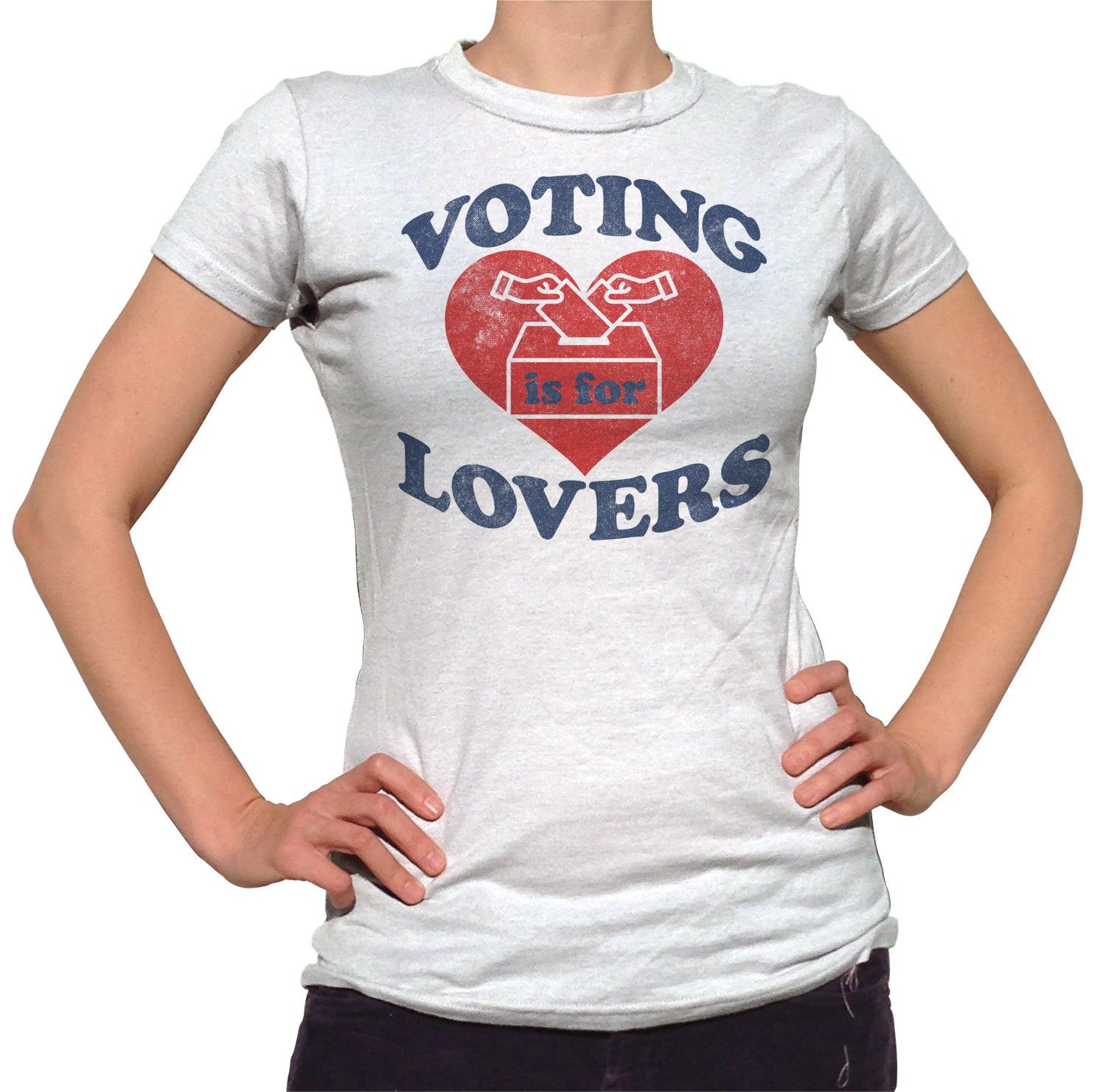 Women's Voting Is For Lovers T-Shirt