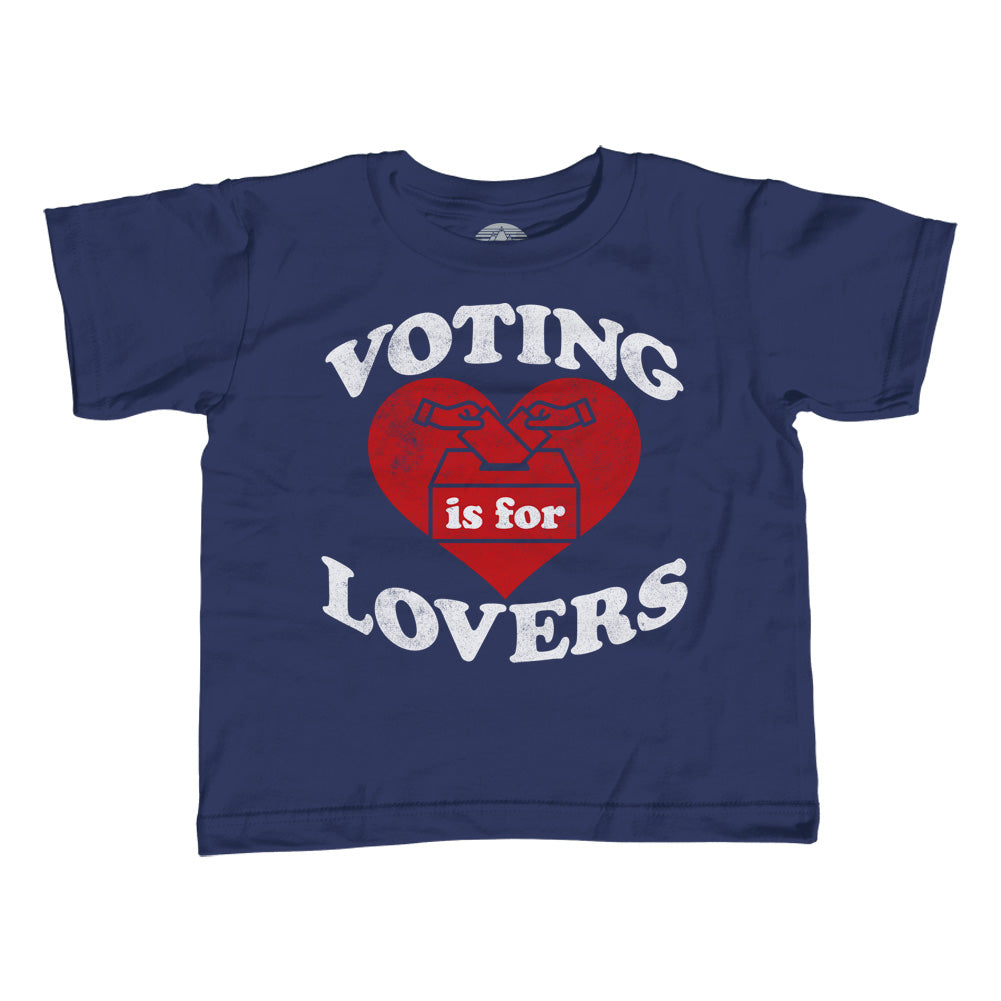 Girl's Voting Is For Lovers T-Shirt - Unisex Fit