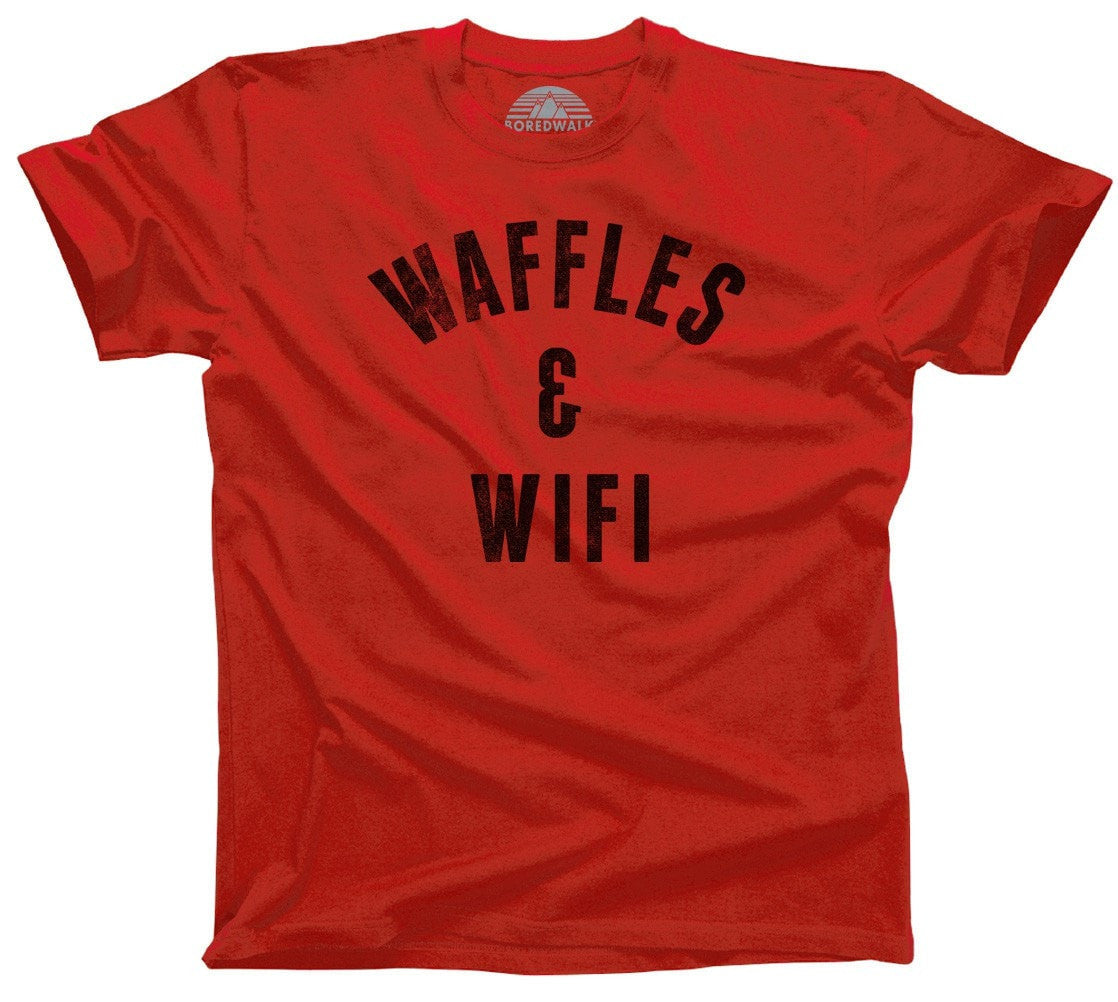 Men's Waffles and Wifi T-Shirt