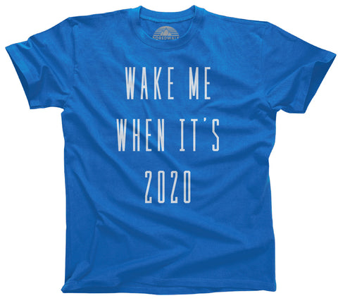 Men's Wake Me When It's 2020 Anti Trump T-Shirt