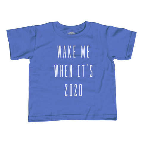 Boy's Wake Me When It's 2020 Anti Trump T-Shirt