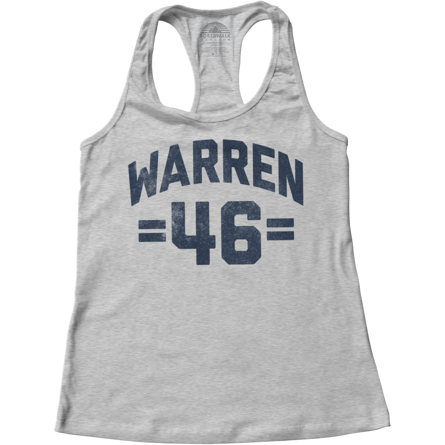 Women's Elizabeth Warren 46 Racerback Tank Top