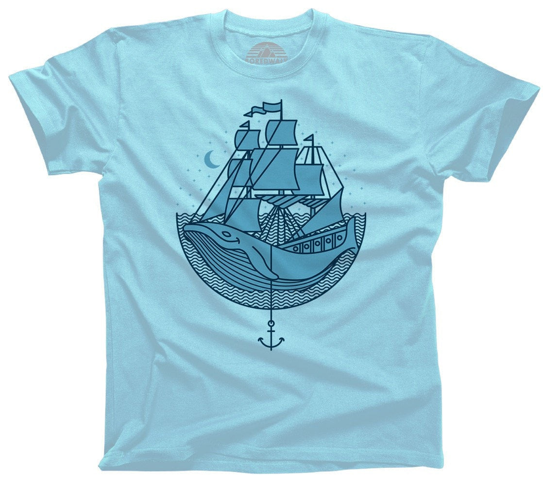 Men's Whale Ship T-Shirt