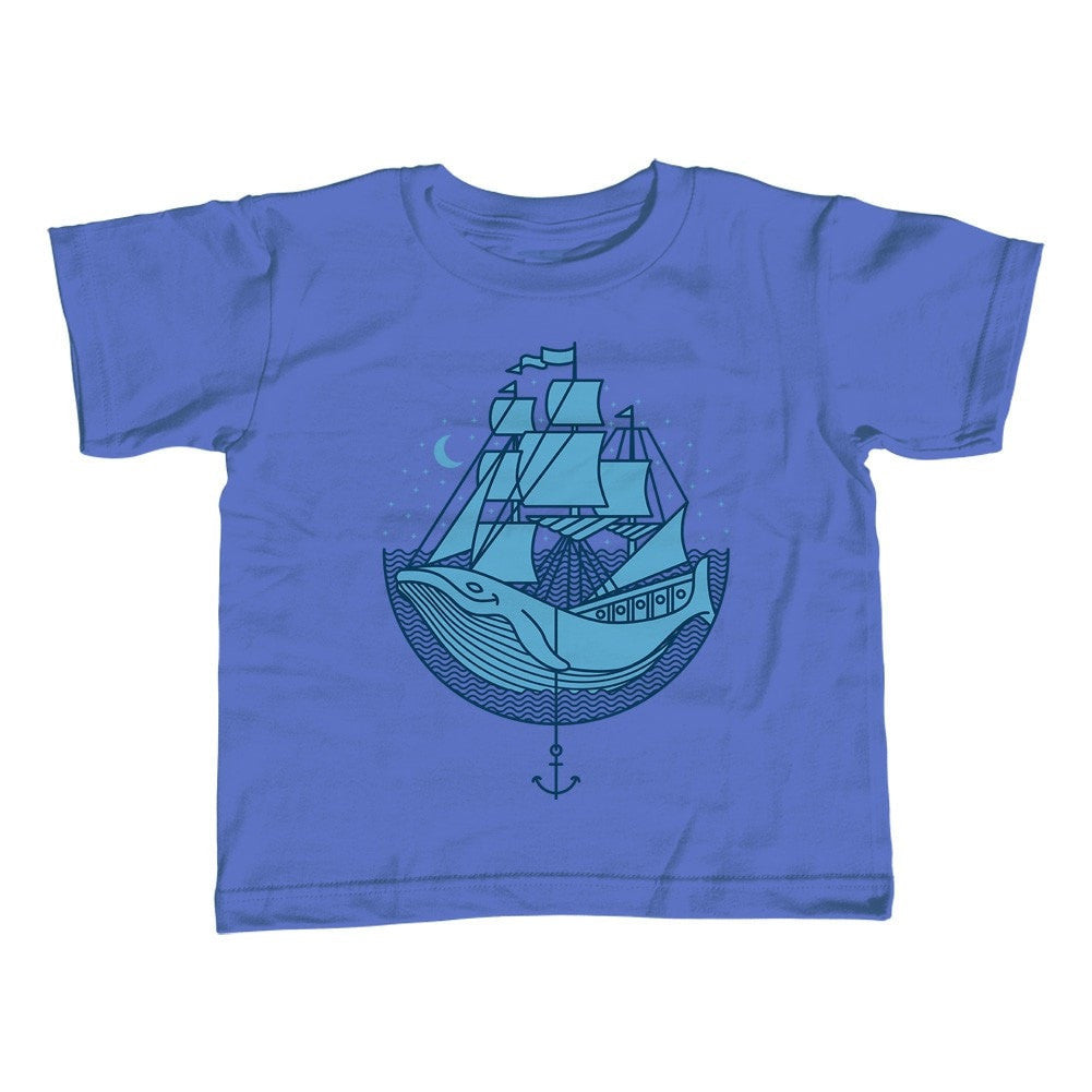 Boy's Whale Ship T-Shirt