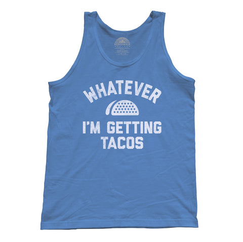 Unisex Whatever I'm Getting Tacos Tank Top