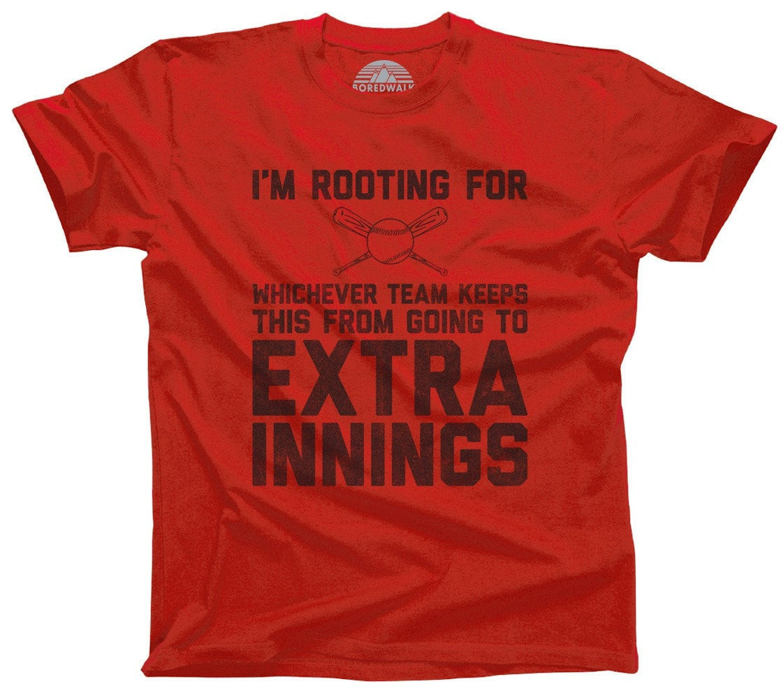 Men's Whichever Team Keeps This From Going to Extra Innings T-Shirt