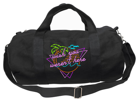 Wish You Weren't Here Duffel Bag