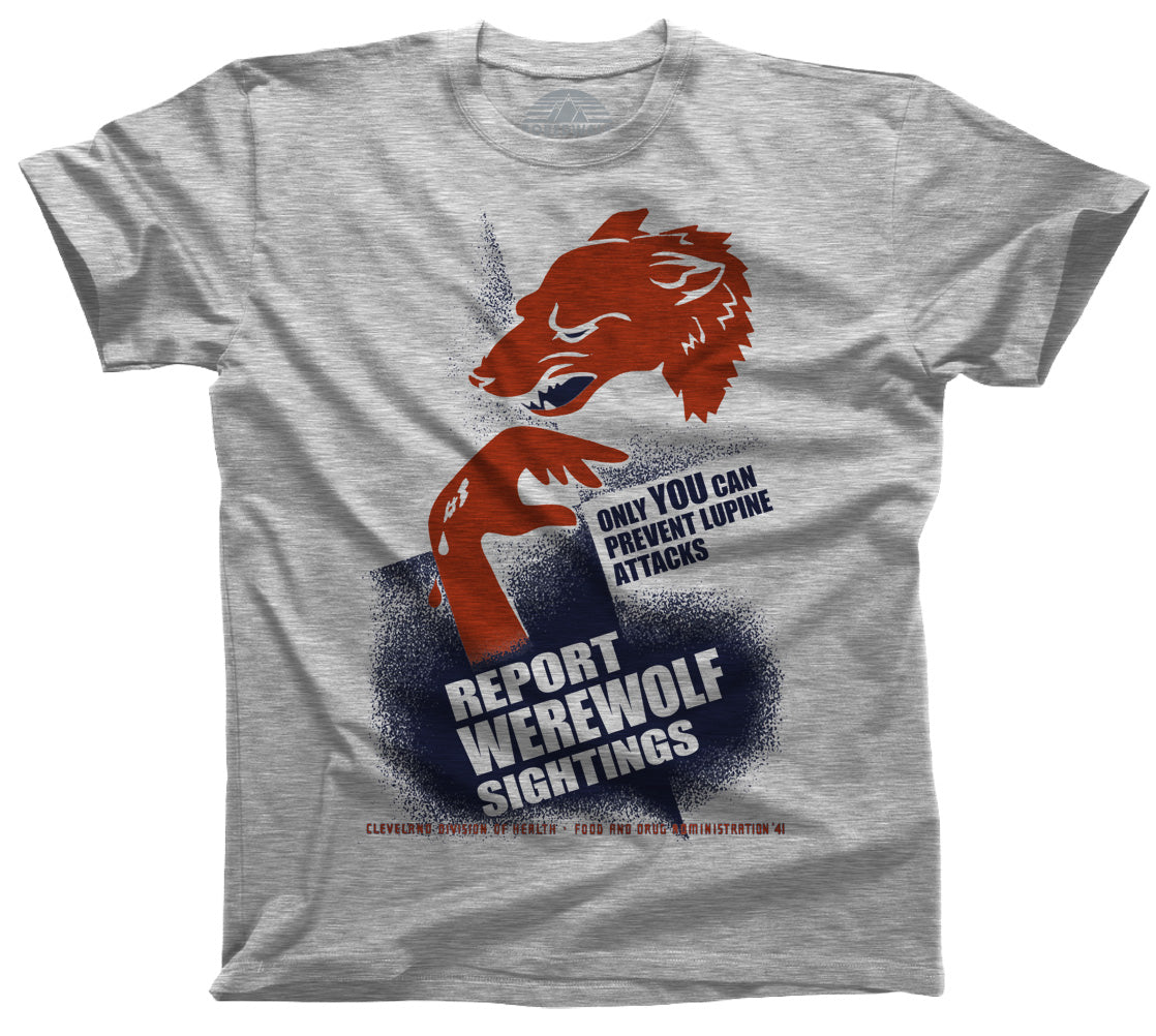 Men's Report Werewolf Sightings T-Shirt