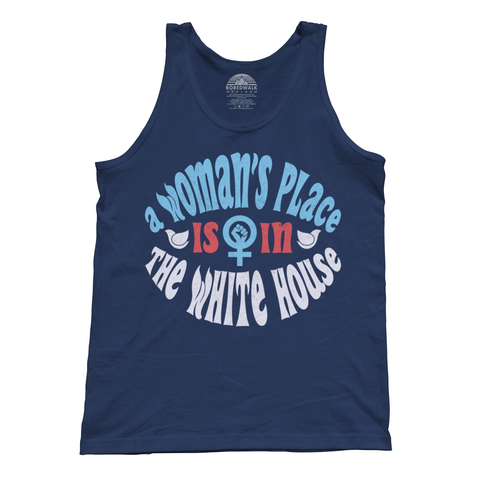 Unisex A Woman's Place is in The White House Tank Top