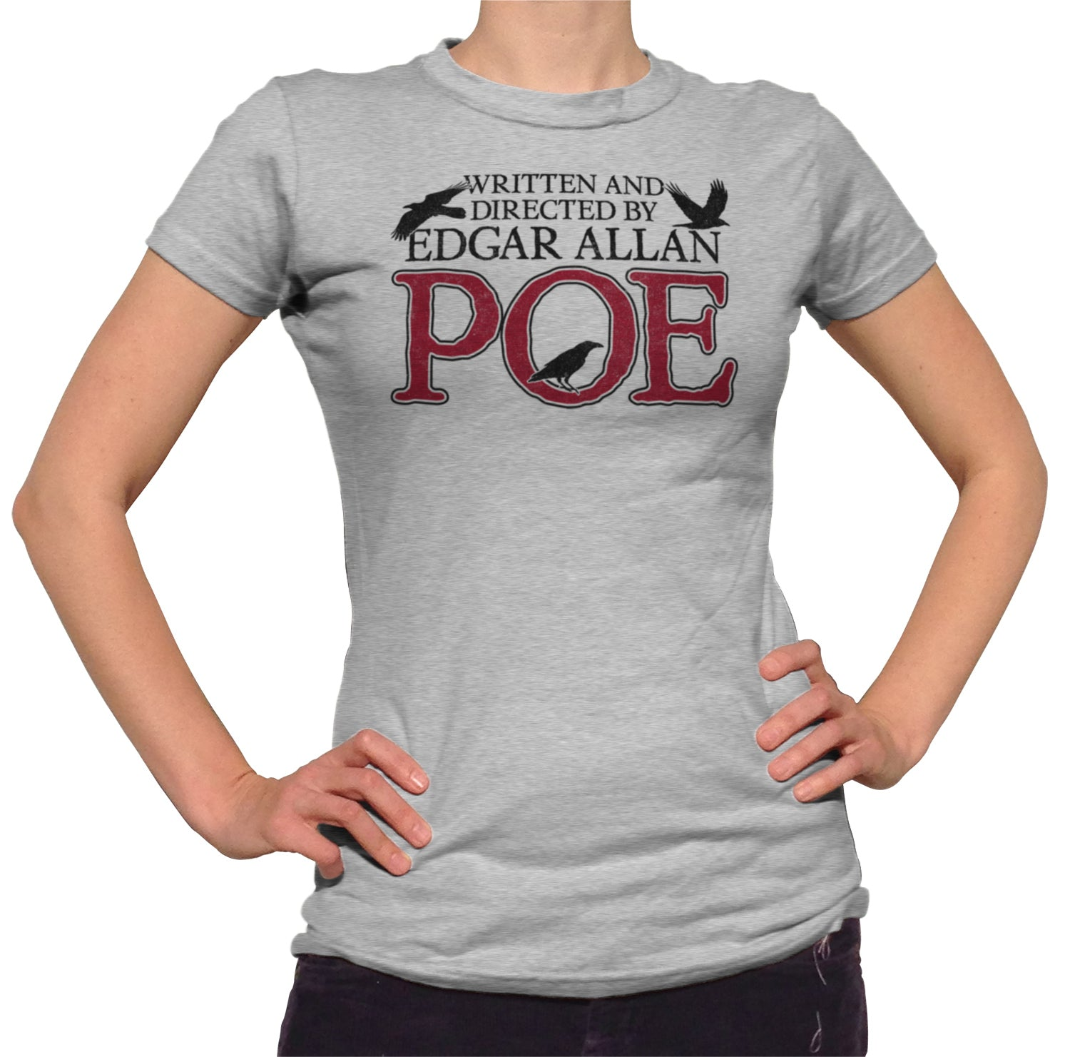 Women's Written and Directed by Edgar Allan Poe T-Shirt