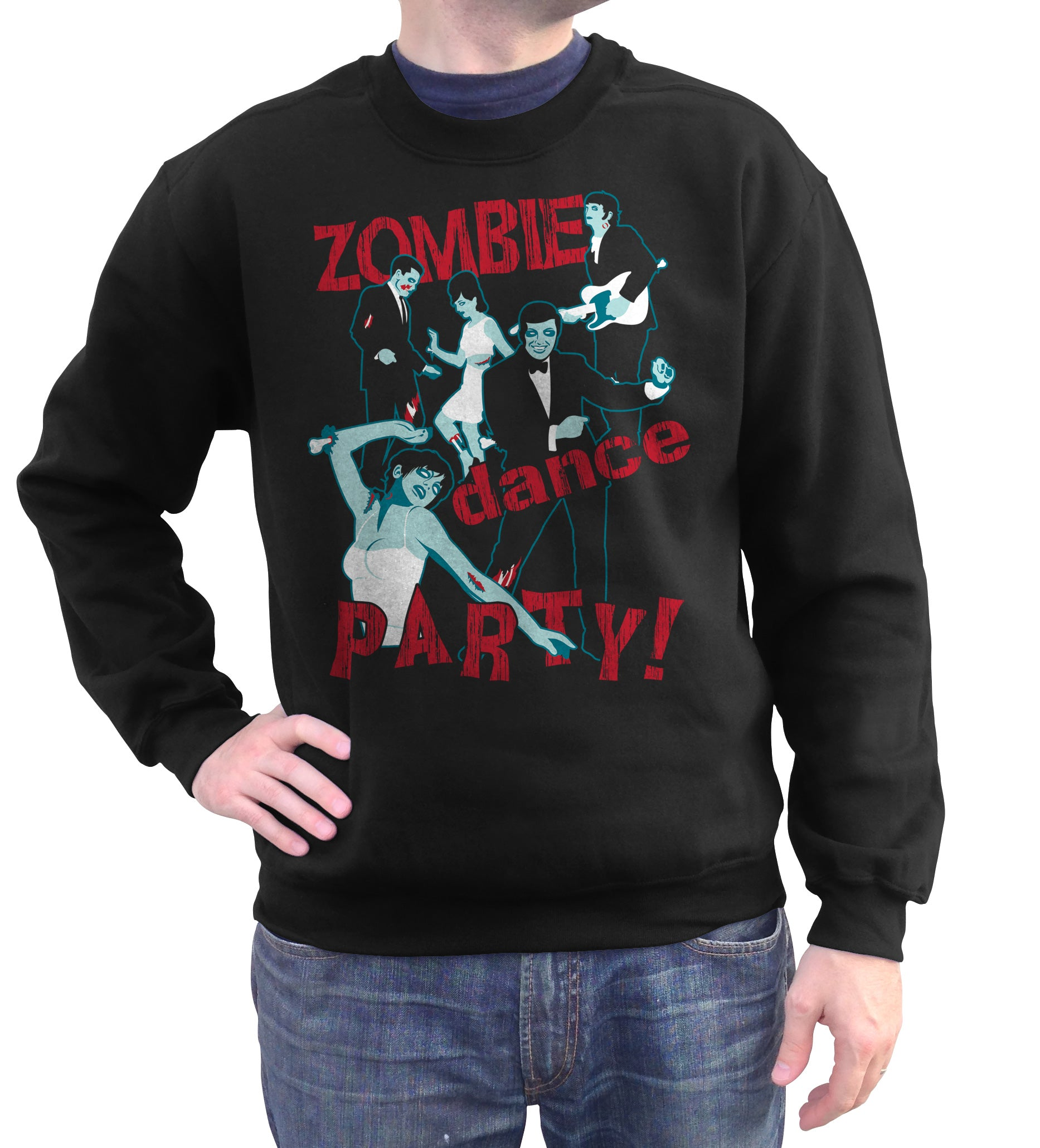 Unisex Zombie Dance Party Sweatshirt - By Ex-Boyfriend