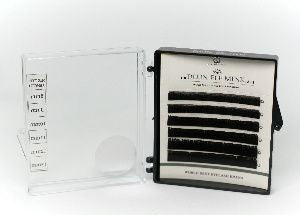 CLEARANCE Dlux Colour Mink Lashes - DARK BROWN