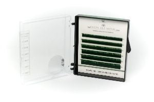 CLEARANCE Dlux Colour Mink Lashes  - DARK GREEN