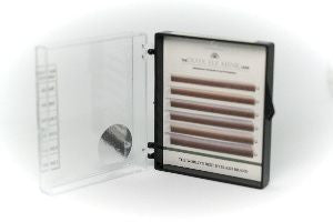CLEARANCE Dlux Colour Mink Lashes - WHITE CACAO