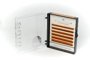 * * CLEARANCE * * Dlux Colour Mink Lashes - ORANGE