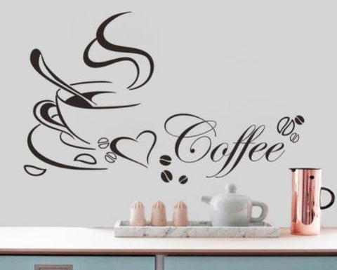 "Wall Decal: ""Coffee"" Wall or Window Decal"