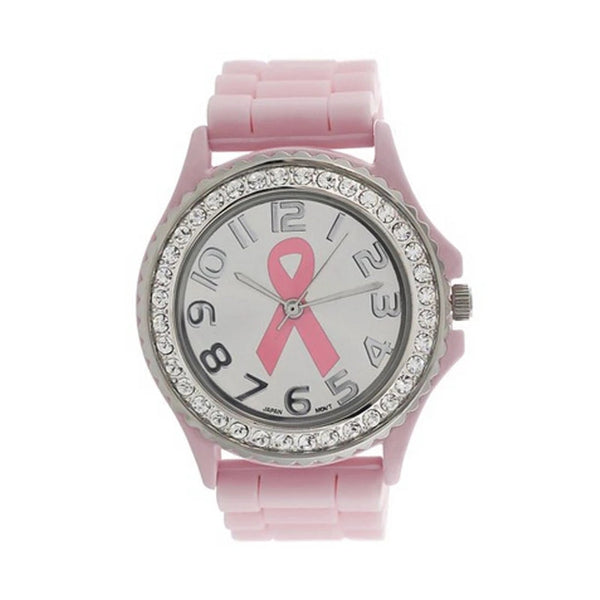 Watch: Breast Cancer Awareness Watch - Pink