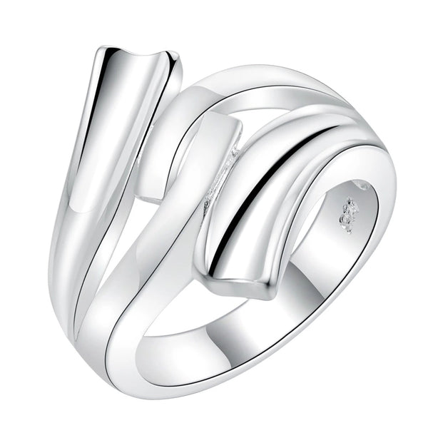 Ring: Abstract Swirl Design Ring