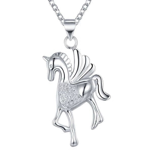 Necklace: Unicorn Pendant Necklace